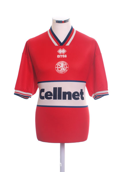 1997-98 Middlesbrough Home Shirt XL