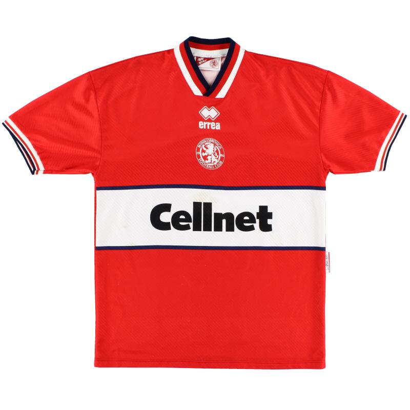 1997-98 Middlesbrough Home Shirt L