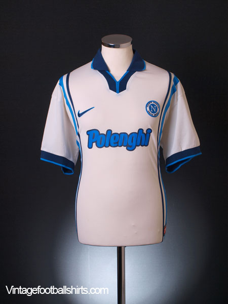 1997-98 Napoli Away Shirt XL