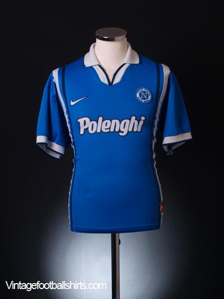 1997-98 Napoli Home Shirt L