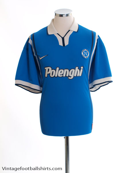 1997-98 Napoli Home Shirt XL