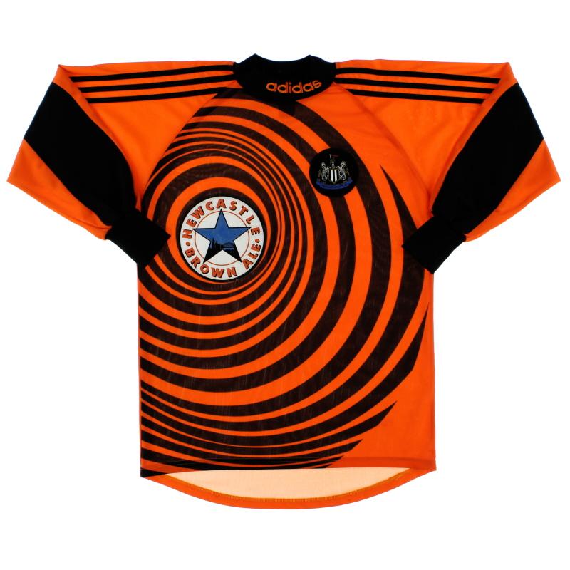 1997-98 Newcastle adidas Goalkeeper Shirt S.Boys