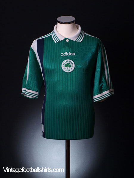1997-98 Panathinaikos Home Shirt L