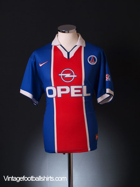 1997-98 Paris Saint-Germain Home Shirt *Mint* L