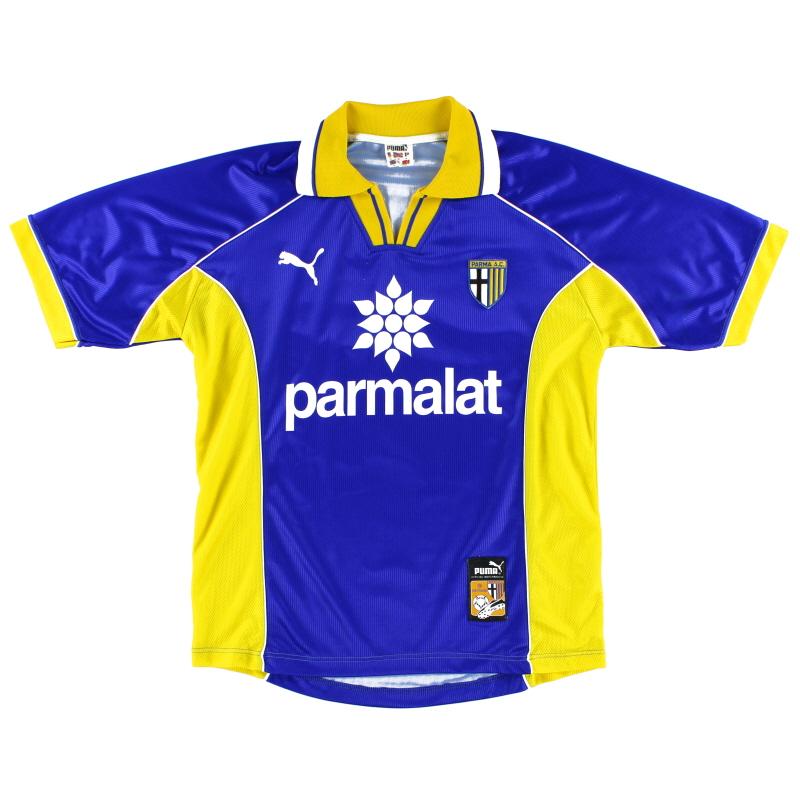 1997-98 Parma Away Shirt S