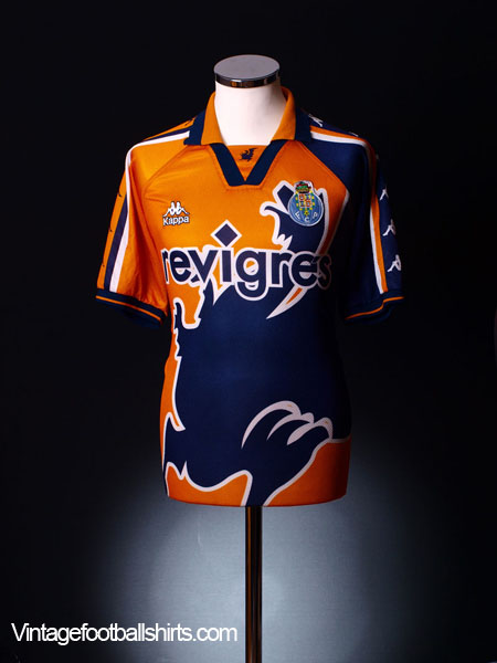 1997-98 Porto Away Shirt XL