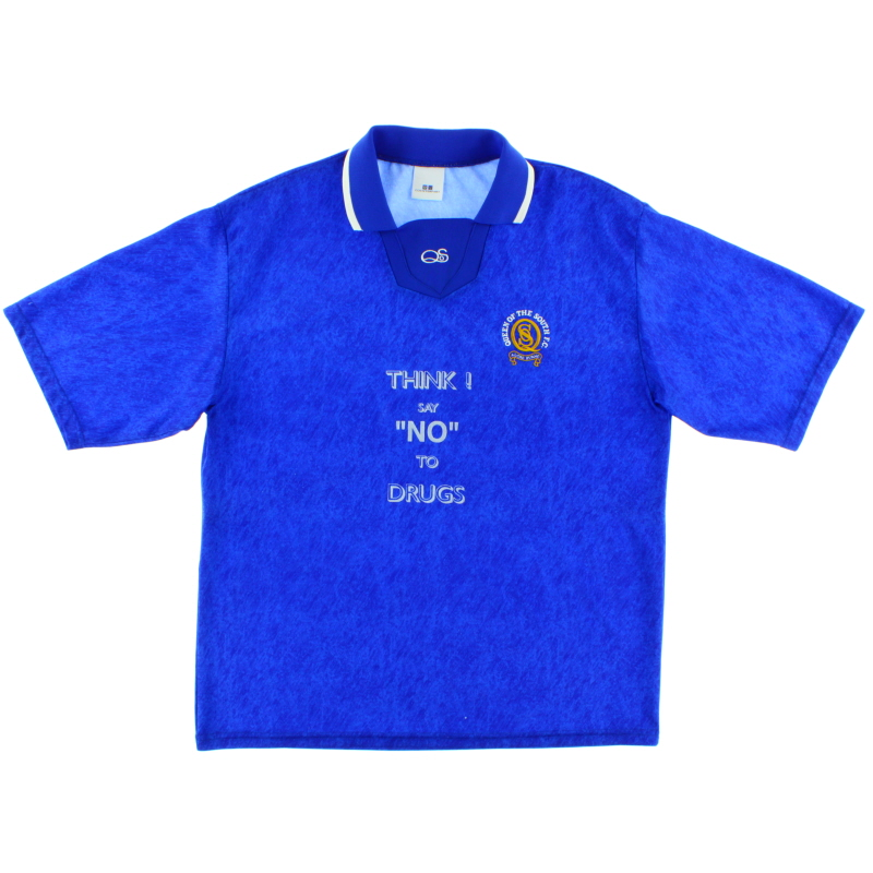 1997-98 Queen of the South Home Shirt XXL