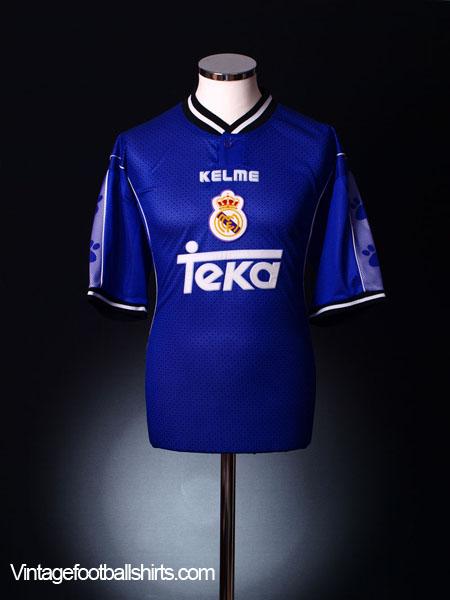 1997-98 Real Madrid Away Shirt XL