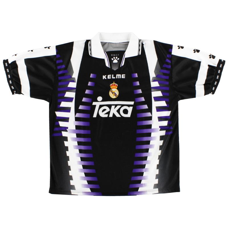 1997-98 Real Madrid Kelme Third Shirt M