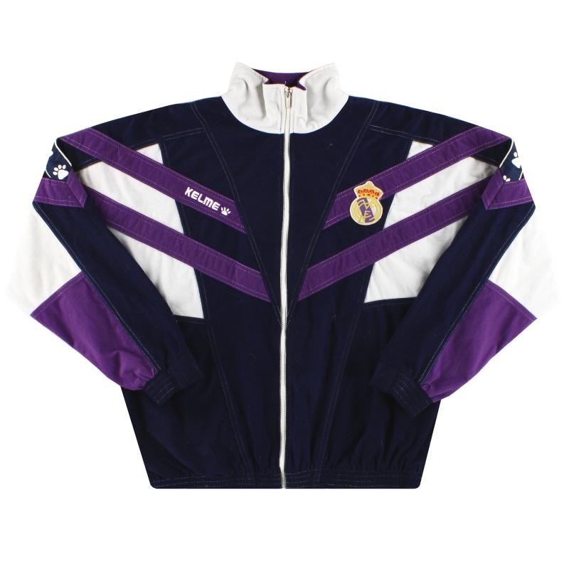 1997-98 Real Madrid Kelme Track Top *Mint* L