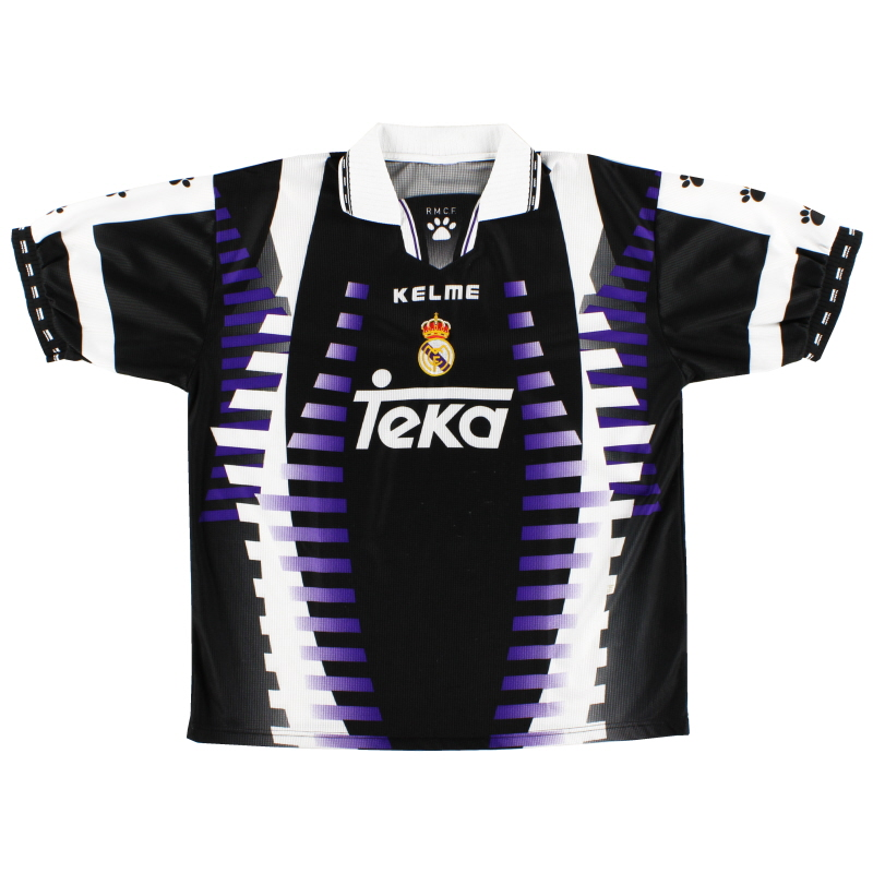 1997-98 Real Madrid Kelme Third Shirt S