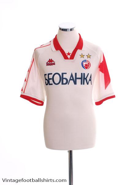 1997-98 Red Star Belgrade Away Shirt L