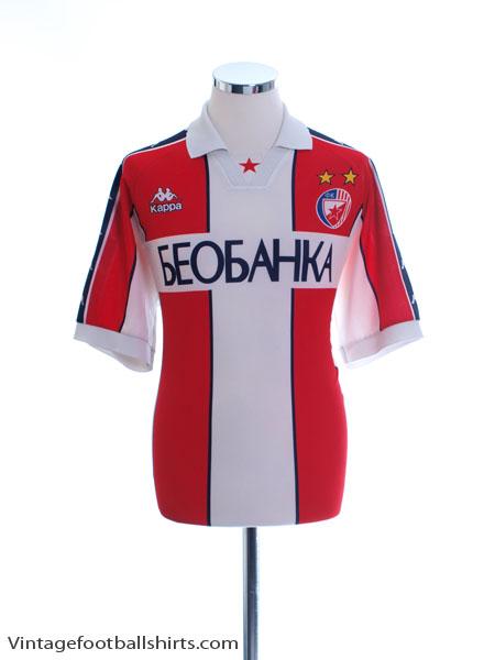 1997-98 Red Star Belgrade Home Shirt L