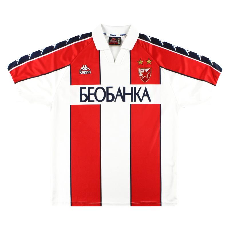 1997-98 Red Star Belgrade Kappa Home Shirt XL