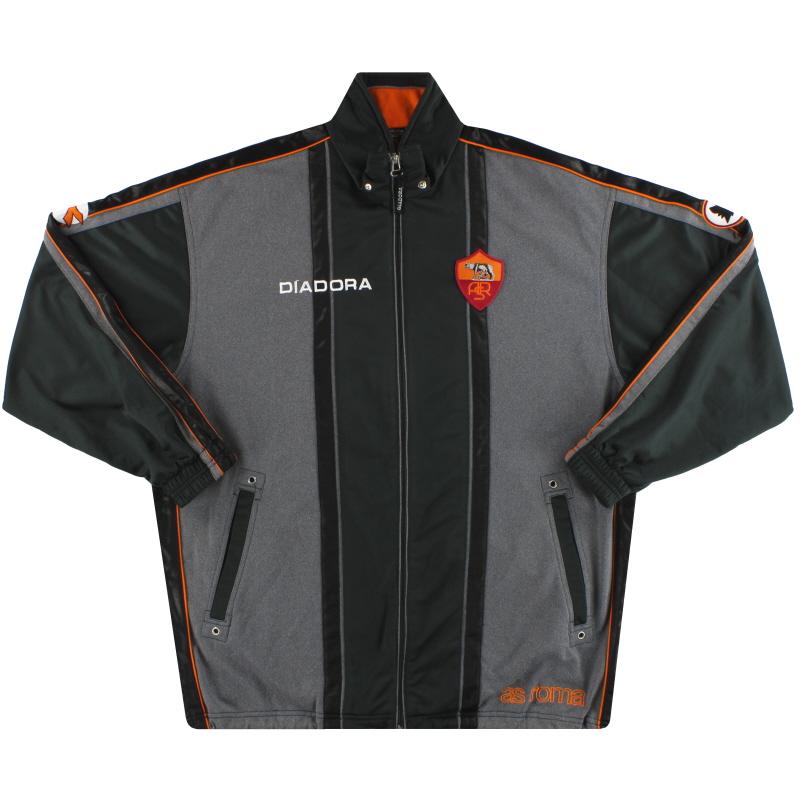 1997-98 Roma Diadora Track Jacket L