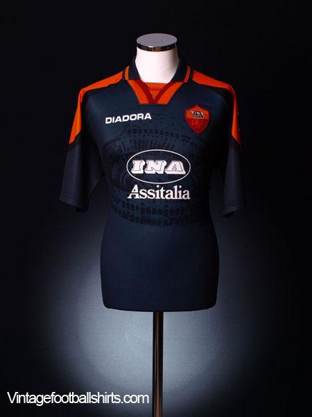 1997-98 Roma Third Shirt *Mint* L