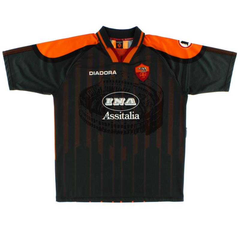 1997-98 Roma Third Shirt XL
