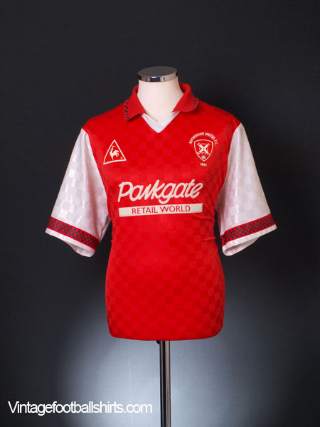 1997-98 Rotherham Home Shirt L