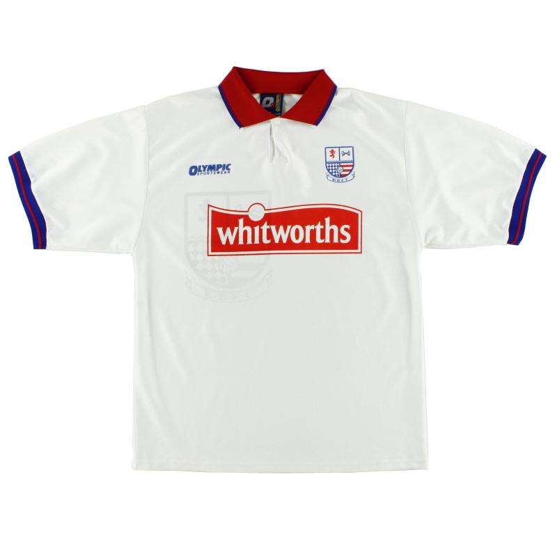 1997-98 Rushden and Diamonds Olympic Sportswear Home Shirt XL