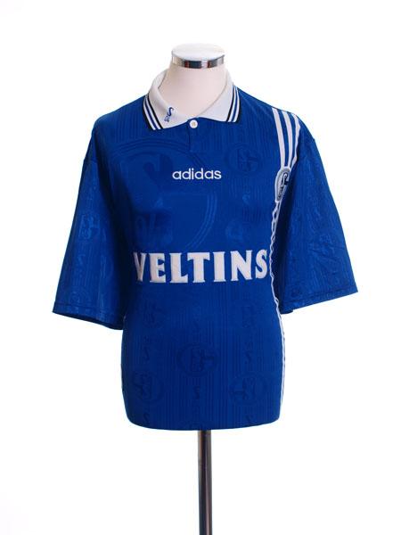 1997-98 Schalke Home Shirt L