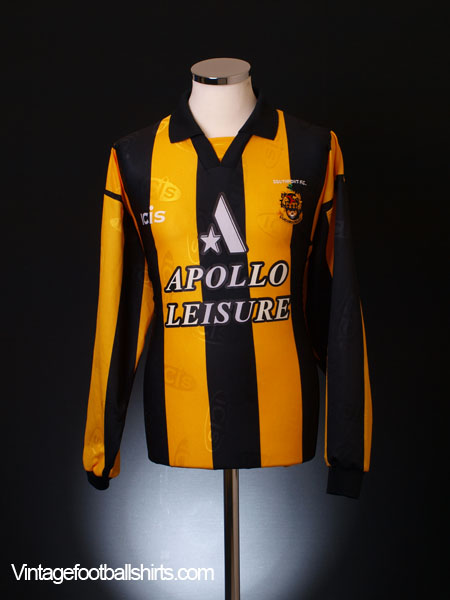 1997-98 Southport Home Shirt L/S XL