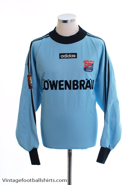 1997-98 Unterhaching Match Issue Goalkeeper Shirt #1 XXL