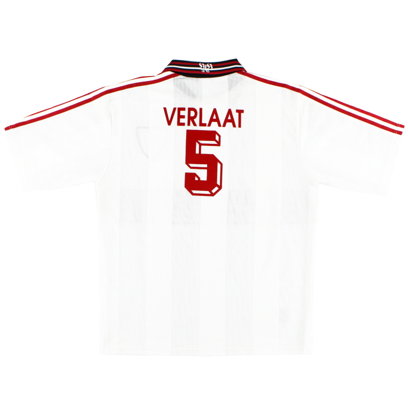 1997-98 Stuttgart Home Shirt Verlaat #5 XL