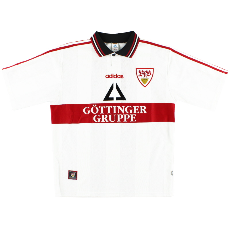 1997-98 Stuttgart Home Shirt Y