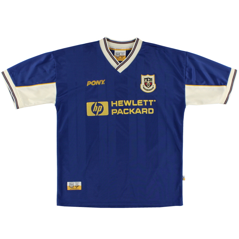 1997-98 Tottenham Pony Away Shirt XL