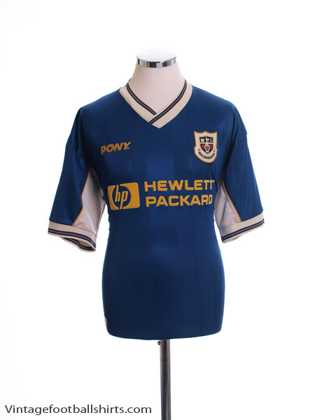 1997-98 Tottenham Away Shirt L.Boys
