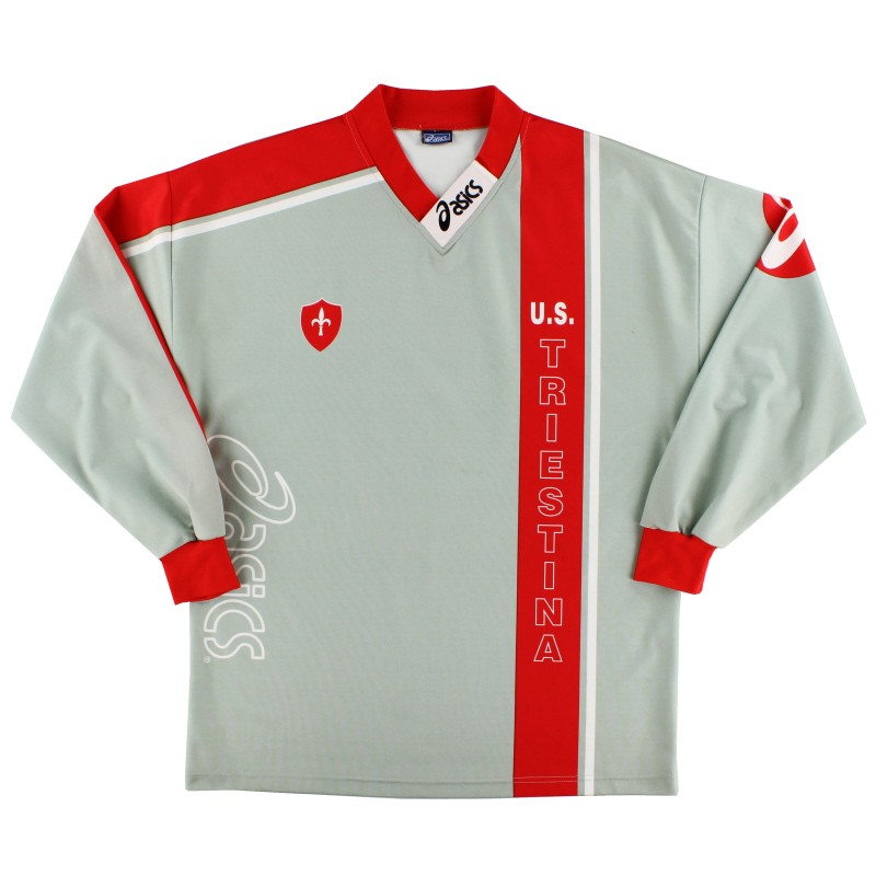 1997-98 Triestina Asics Training Shirt XL