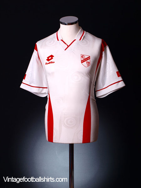 1997-98 Tunisia Away Shirt XL