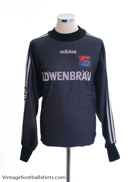 1997-98 Unterhaching Match Issue GK Shirt #1 XXL