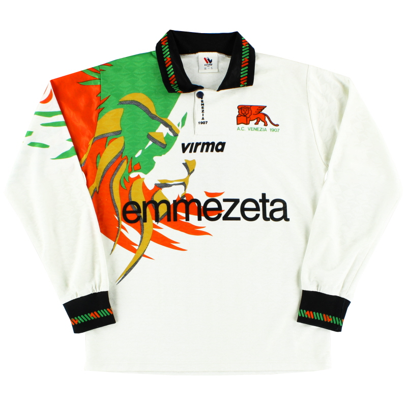 1997-98 Venezia Away Shirt #9 L/S S