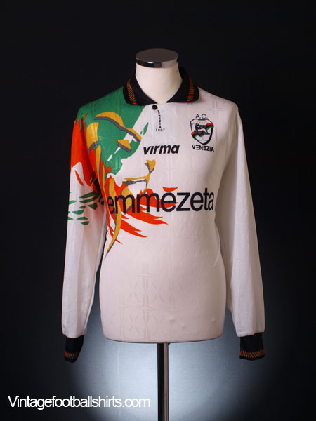 1997-98 Venezia Away Shirt L/S XL