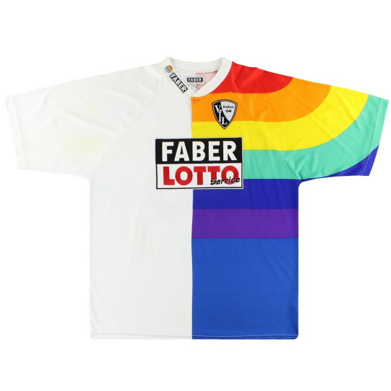 1997-98 VfL Bochum Faber Home Shirt Faye #35 XL