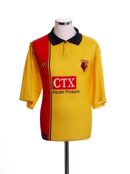 1997-98 Watford Home Shirt L