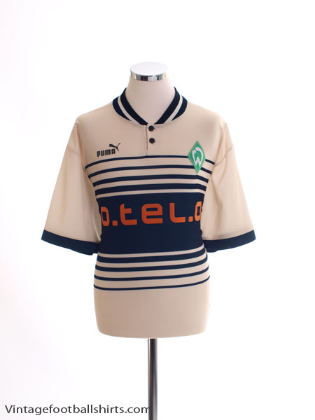 1997-98 Werder Bremen Away Shirt L