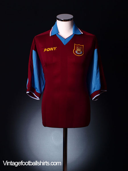 1997-98 West Ham Home Shirt L