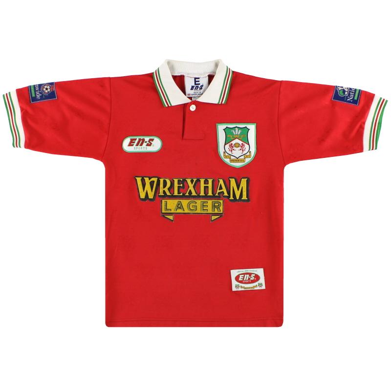 1997-98 Wrexham Home Shirt S.Boys