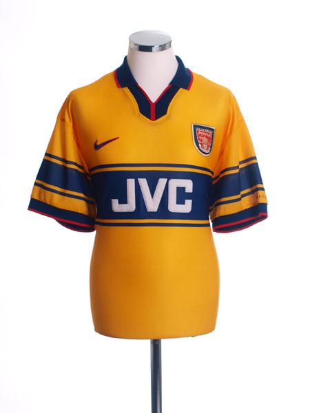 1997-99 Arsenal Away Shirt M.Boys