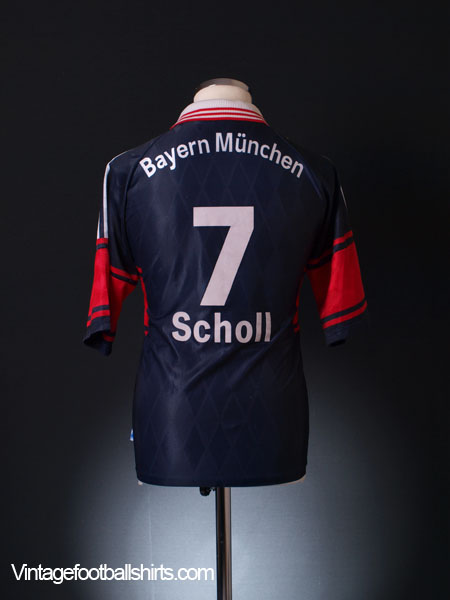 1997-99 Bayern Munich Home Shirt Scholl #7 S