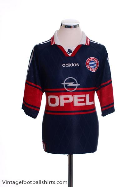 1997-99 Bayern Munich Home Shirt XXL - 07766