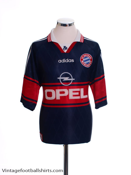 1997-99 Bayern Munich Home Shirt L - 07766