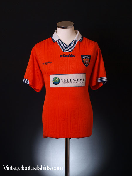 1997-99 Blackpool Home Shirt XL