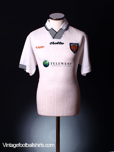 1997-99 Blackpool Third Shirt *BNWT* M