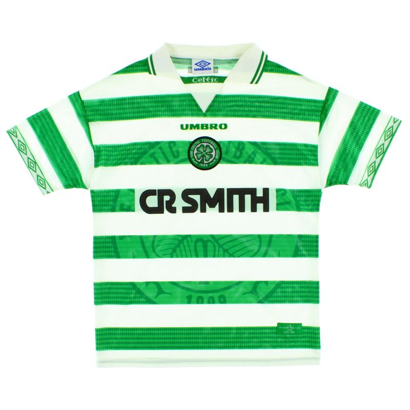 1997-99 Celtic Home Shirt L
