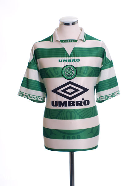 1997-99 Celtic Home Shirt XL