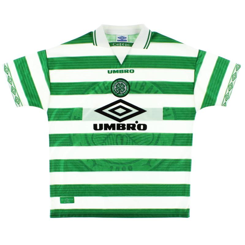 1997-99 Celtic Umbro Home Shirt L