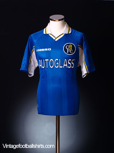 1997-99 Chelsea Home Shirt L